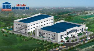 Đông Nam Bộ nhận thiết kế nhà xưởng công nghiệp